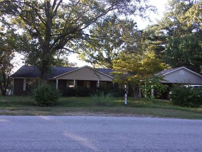 Bruce, Calhoun City, Derma, Abbeville, Banner, Batesville, Como, Taylor, Courtland, Crenshaw, Pope, Sardis, Charleston, Coffeeville, Oakland Single Family Home For Sale: 629 Sardis Lake Dr.