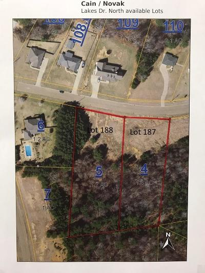 Oxford Residential Lots & Land For Sale: Tbd Lakes Drive North