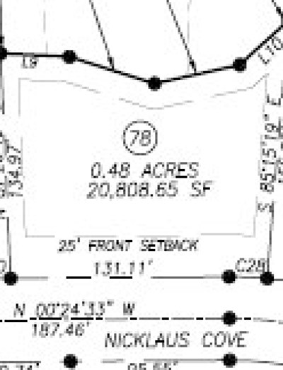 Oxford Residential Lots & Land For Sale: Lot # 78 Nicklaus Cove