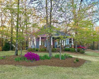 Oxford Single Family Home For Sale: 7011 Bluff Lane