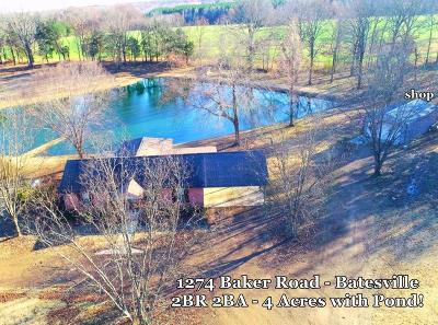 Single Family Home For Sale: 1274 Baker Road