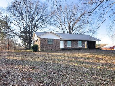 Water Valley Single Family Home For Sale: 835 Hwy 32