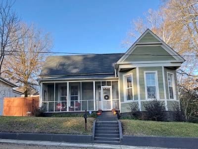 Water Valley Single Family Home For Sale: 106 North Court Street