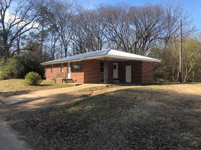 Water Valley MS Single Family Home For Sale: $75,000