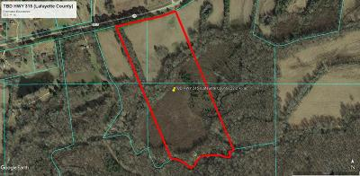 Water Valley Residential Lots & Land For Sale: Tbd Hwy 315 (Lafeyette Co)