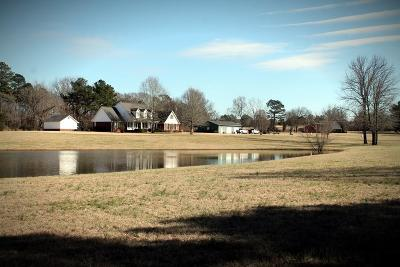 Water Valley Single Family Home For Sale: 416 Cr 378 (Lafayette County)