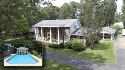 Yalobusha County Single Family Home For Sale: 2543 Cr 214