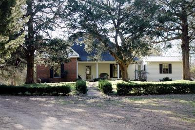 Water Valley Single Family Home For Sale: 6528 Hwy 315