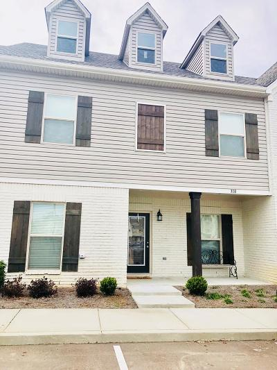 Single Family Home For Sale: 318 Paul T. Circle #51