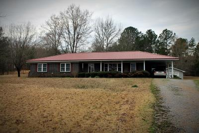 Coffeeville Single Family Home For Sale: 7049 Cr 212