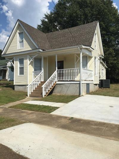 Water Valley Single Family Home For Sale: 908 North Main St.