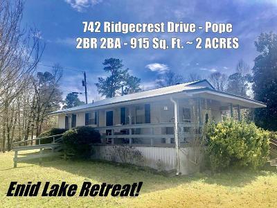 Single Family Home For Sale: 742 Ridgecrest