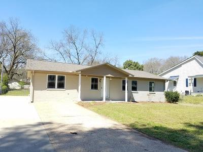Water Valley MS Single Family Home For Sale: $159,000