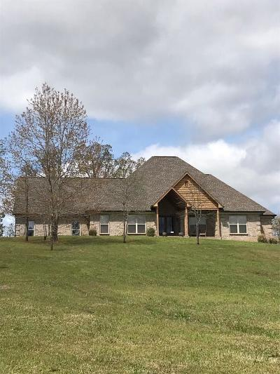 Water Valley MS Single Family Home For Sale: $318,500