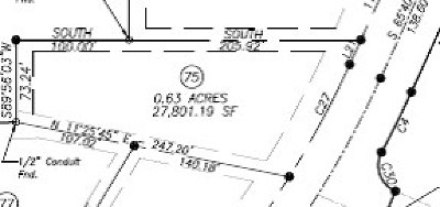 Oxford Residential Lots & Land For Sale: Lot # 75 Morris Drive