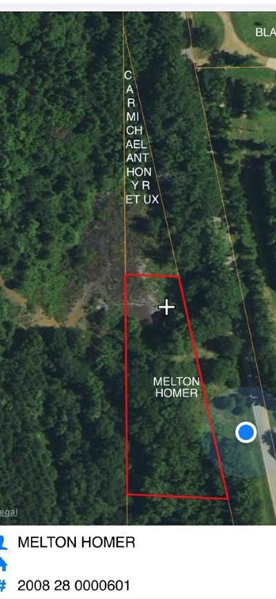 Bruce, Calhoun City, Derma, Abbeville, Banner, Batesville, Como, Taylor, Courtland, Crenshaw, Pope, Sardis, Charleston, Coffeeville, Oakland Residential Lots & Land For Sale: 16025 Hwy 7