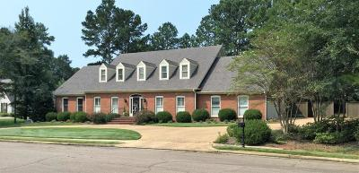 Tupelo Single Family Home For Sale: 3201 North Hill Dr.