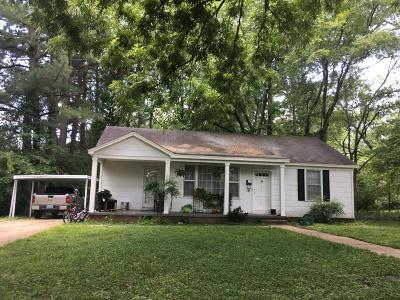 Tupelo Single Family Home For Sale: 1139 Marie St.