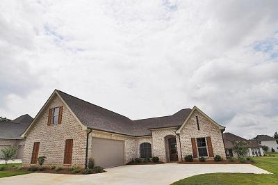 Tupelo Single Family Home For Sale: 111 Acadian(Lot 33) County Road .
