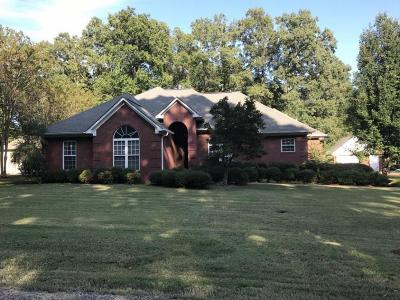 Pontotoc Single Family Home For Sale: 256 Ridgewood Dr.