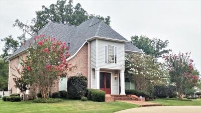 Tupelo Single Family Home For Sale: 1621 Larkspur County Road .