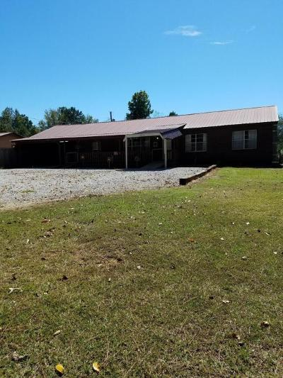 Marshall County, Benton County, Tippah County, Alcorn County, Prentiss County, Tishomingo County Single Family Home For Sale: 1850 Co Rd 218