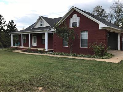 Marshall County, Benton County, Tippah County, Alcorn County, Prentiss County, Tishomingo County Single Family Home For Sale: 351 Co Rd 445
