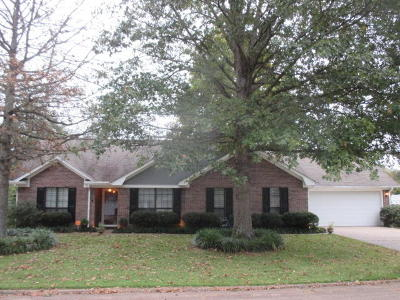 Tupelo MS Single Family Home For Sale: $139,900