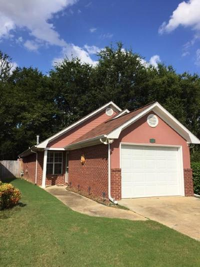 Tupelo MS Single Family Home For Sale: $103,500