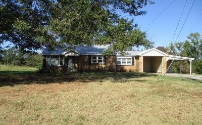 Marshall County, Benton County, Tippah County, Alcorn County, Prentiss County, Tishomingo County Single Family Home For Sale: 297 Co Rd 6