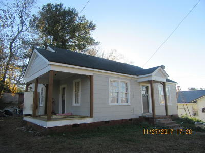 Pontotoc Single Family Home For Sale: 195 W Oxford St.