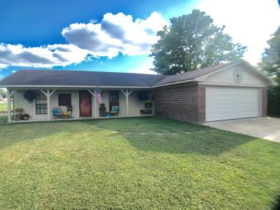 Single Family Home For Sale: 2405 Evergreen St.