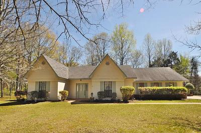 Tupelo Single Family Home For Sale: 188 Country Oaks County Road .