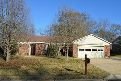 Tupelo Single Family Home For Sale: 2013 Fillmore