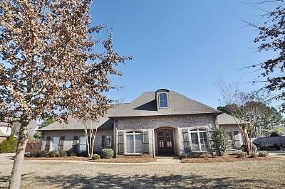 Tupelo Single Family Home For Sale: 4594 Pine Cone Ln.