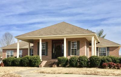 Marshall County, Benton County, Tippah County, Alcorn County, Prentiss County, Tishomingo County Single Family Home For Sale: 100 Par View