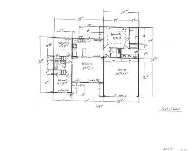 Single Family Home For Sale: 74 Sandpiper (Lot 65) Cv.