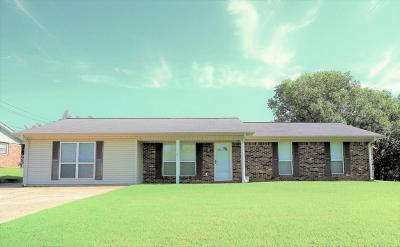 Tupelo MS Single Family Home For Sale: $109,900