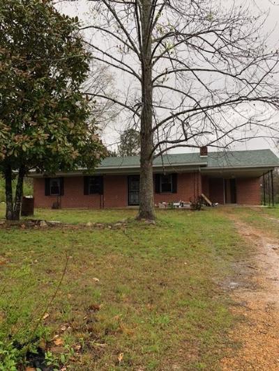 Marshall County, Benton County, Tippah County, Alcorn County, Prentiss County, Tishomingo County Single Family Home For Sale: 45 Lunati Road