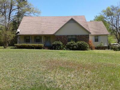 Marshall County, Benton County, Tippah County, Alcorn County, Prentiss County, Tishomingo County Single Family Home For Sale: 507 Wroten Road