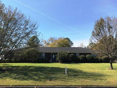 Tupelo MS Single Family Home For Sale: $144,900