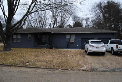Tupelo MS Single Family Home For Sale: $66,500