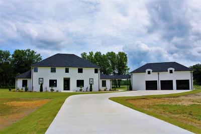 Tupelo MS Single Family Home For Sale: $499,950