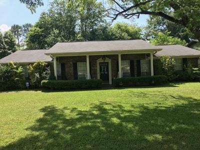 Tupelo Single Family Home For Sale: 1408 Fillmore Dr.