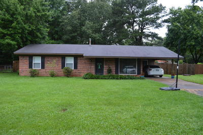 Tupelo MS Single Family Home For Sale: $85,000