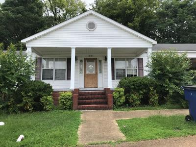 Single Family Home For Sale: 301 Valley St.