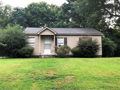 Lee County Single Family Home For Sale: 107 N Montgomery St.