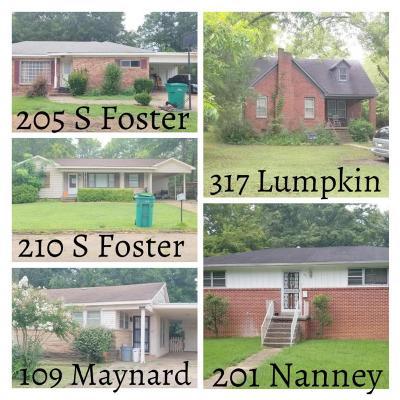 Tupelo Multi Family Home For Sale: 109 Maynard Dr.