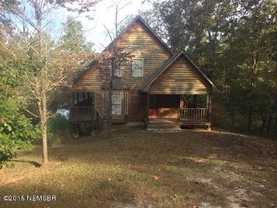 Single Family Home For Sale: 409 Bud Isaiah Road