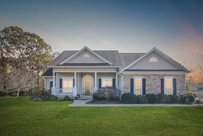 Single Family Home For Sale: 210 Burch Timbers Road